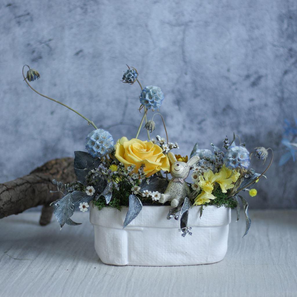 桌花、桌花布置、桌花設計、開幕桌花、乾燥桌花、永生桌花、不凋桌花