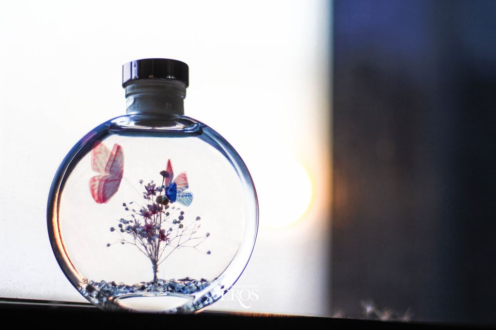 浮游花花禮、浮游花小夜燈、乾燥花浮游花
