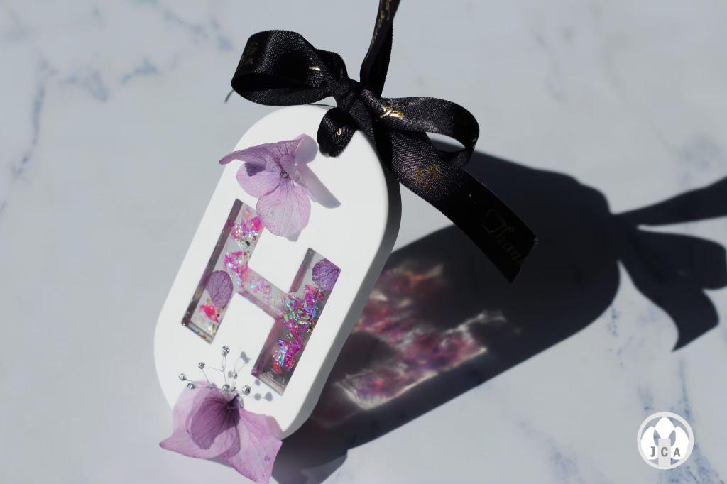 冰晶香氛磚、透視字母香氛磚、乾燥花香氛磚