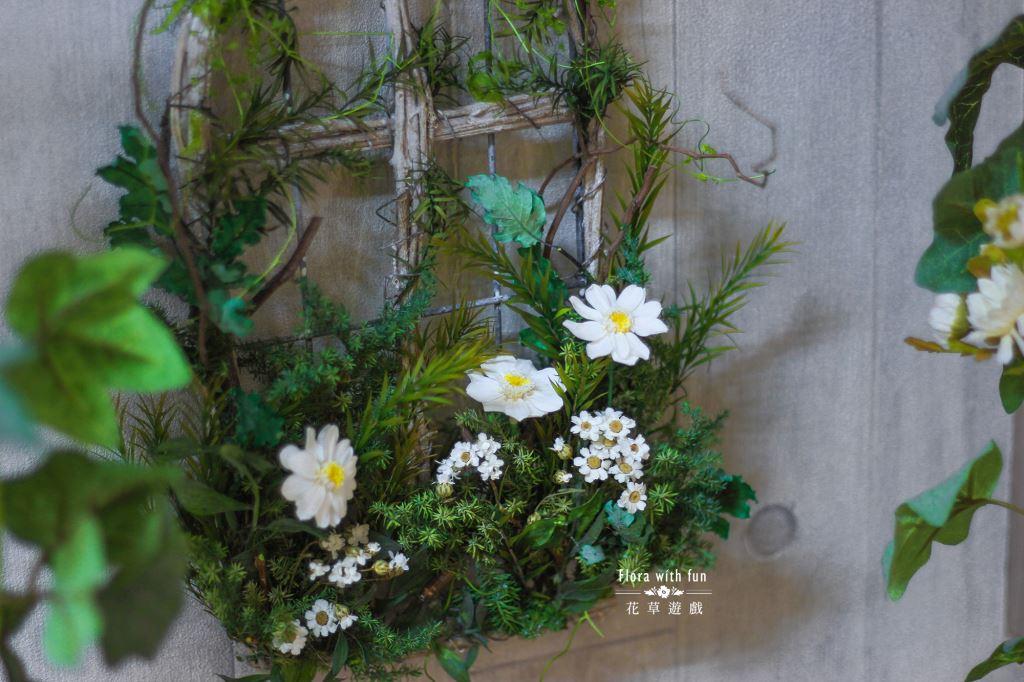 五福臨門 壁飾(小)、乾燥花體驗課、不凋花體驗課、新春限定課程、新年禮物、過新年佈置、新春擺飾、新年祝賀